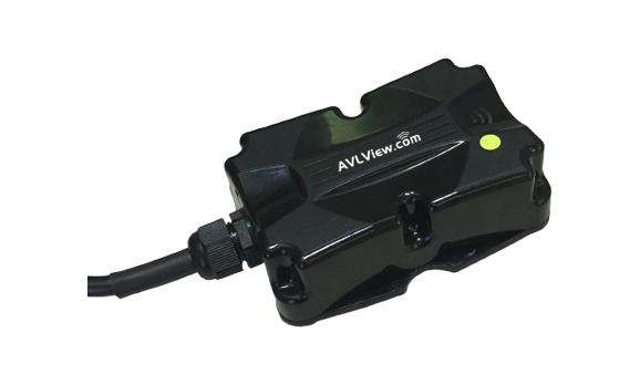 AVLView AIS 140 compliant GPS tracking device with emergency button for KMVD Kerala VLT project
